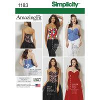 Tipar corset 1183