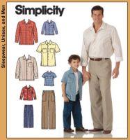 Pantaloni si camasi pentru baieti si barbati