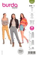 Tipar pantaloni sport cu vipusca 6054