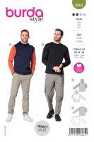 Tipar bluza si hanorac pentru barbati 6064