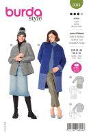 Tipar palton drept si jacheta stil barbatesc 6069