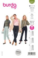 Tipar pantaloni cu inchidere laterala 6072