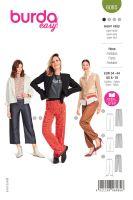 Tipar pantaloni sport cu elastic in talie 6085