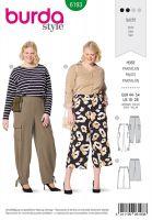 Tipar pantaloni femei 6193