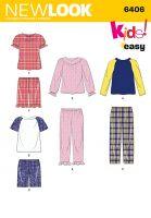 Tipar pijama pentru copii NN6406