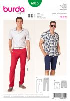 Tipar Pantaloni Burda 6815