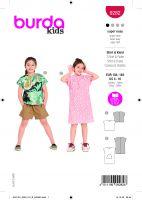 Tipar bluza si rochie pentru fetite 9282