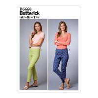 Tipar Pantaloni Femei B 6668