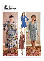 Tipar rochie petrecuta B6703