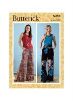 Tipar pantaloni femei B 6750