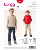 Tipar Burda Jeans copii 9406