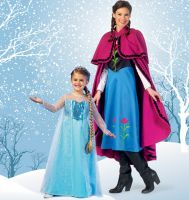 Tipar Costum de Carnaval -Frozen - MC7000