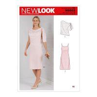 Tipar rochie si bluza asimetrica NN 6653