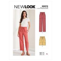 Tipar pantaloni femei N6674