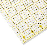 Rigla croitorie, patchwork, design grafic, 9,5x9,5 inch, PRYM 611480