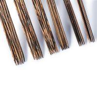 Set andrele Knit Pro Natural, 30 buc andrele, cu 2 varfuri ascutite, dimensiuni cuprinse intre 2-4.5 mm, lemn natural, 20 cm lungime 223805