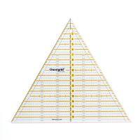 Rigla triunghi de 60 grade, pentru croitorie, patchwork, design grafic, 20 cm (8 inch), PRYM 611658