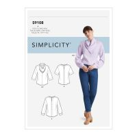 Tipar camasi femei S 9108