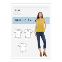 Tipar bluze femei S 9133