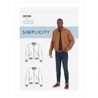 Tipar Jacheta Simplicity 9190