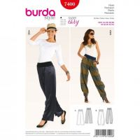 Tipar pantaloni femei 7400