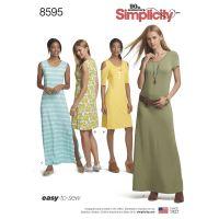 Tipar rochii femei S8595