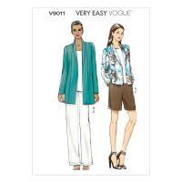 Vogue Tipar sacou, pantaloni scurti si pantaloni lungi