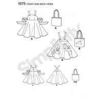 Tipar rochie 1075