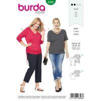 Tipar Burda bluze femei 6308