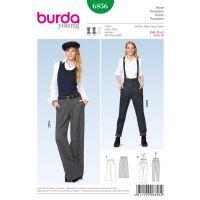 Tipar Pantaloni Burda 6856