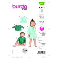 Tipar bluze si rochite copii 0 -3 ani  9277