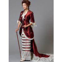 Tipar costum femei, carnaval B 6572