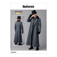 Tipar palton epoca barbati B 6609