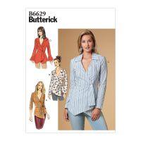 Tipar Bluze Femei B 6629