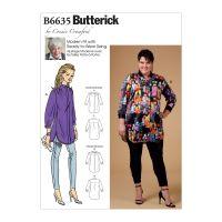 Tipar Bluze Femei B 6635