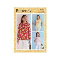 Tipar bluze femei B 6751