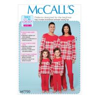 Tipar pijama familie M 7700