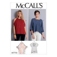 Tipar bluze femei M 7750