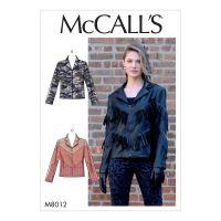 Tipar McCalls M 8012