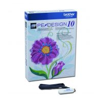 Brother Software Broderie Pe-Design 10