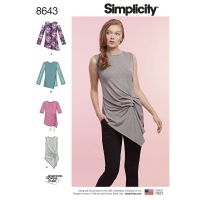 Tipar bluze femei S8643