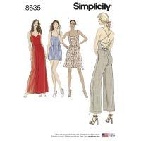 Tipar combinatii femei S 8635