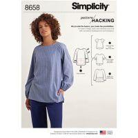 Tipar bluza femei S 8658
