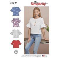 Tipar bluze femei S 8602