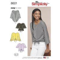 Tipar bluze femei S 8601