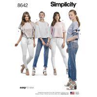 Tipar bluze femei S 8642